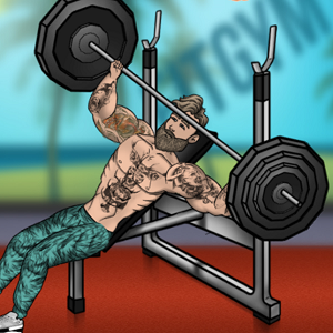 iron muscle bodybuilding and fitness game